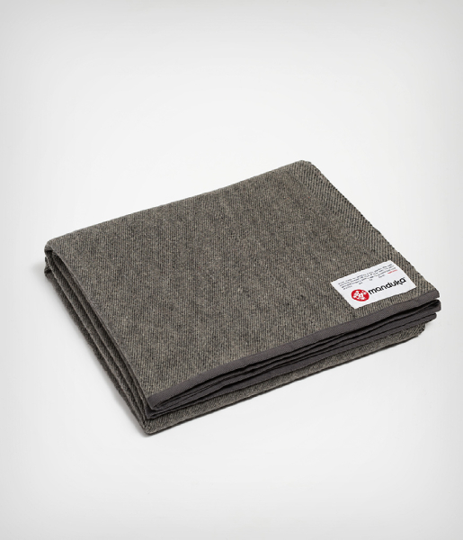 Deka Recycled Wool Blanket Sediment