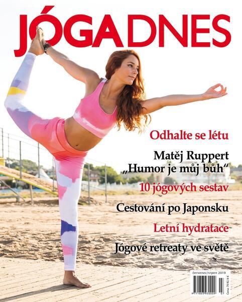 Jóga Dnes 4/2019 červenec-srpen