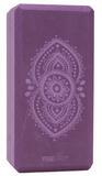 Jógový Blok yogiblock ajna chakra - aubergine