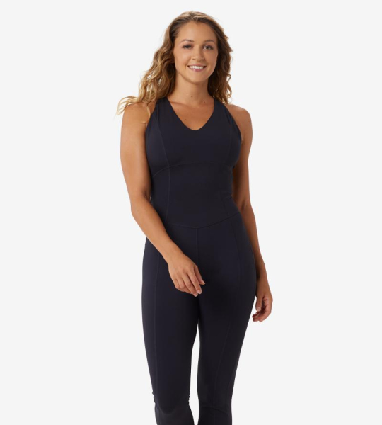 Overal Step Up One Piece Black Beauty