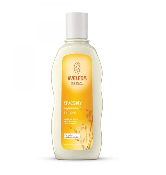 Ovesný šampon pro suché a poškozené vlasy