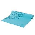 Podložka na jógu LEELA Mandala Blue Curacao