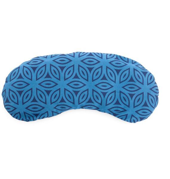 Polštářek na oči bavlněný - vegan blue lotos